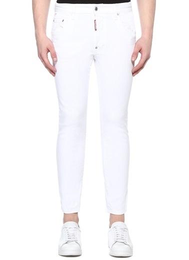 Dsquared2 Jean Pantolon Beyaz